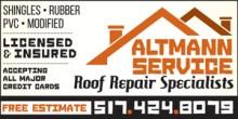 Altmann Service - Complete Building Maintenance Repair - Chuck and Brian Altmann - 517.424.8079